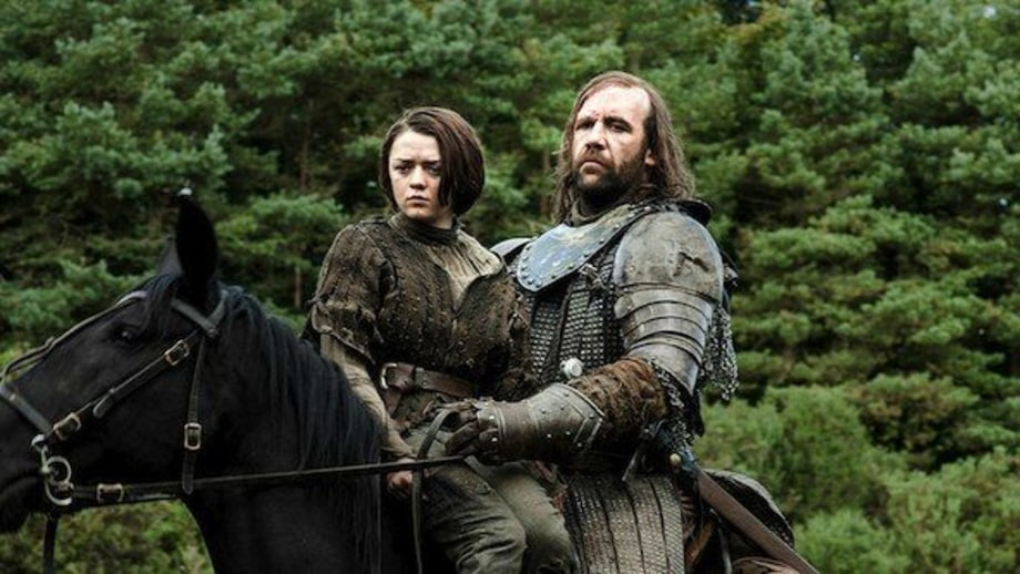 The Hound and Arya Team Up