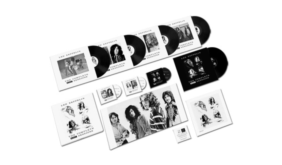 led zeppelin 39 the complete bbc sessions 39 holiday gift guide 2016 35 perfect presents for. Black Bedroom Furniture Sets. Home Design Ideas