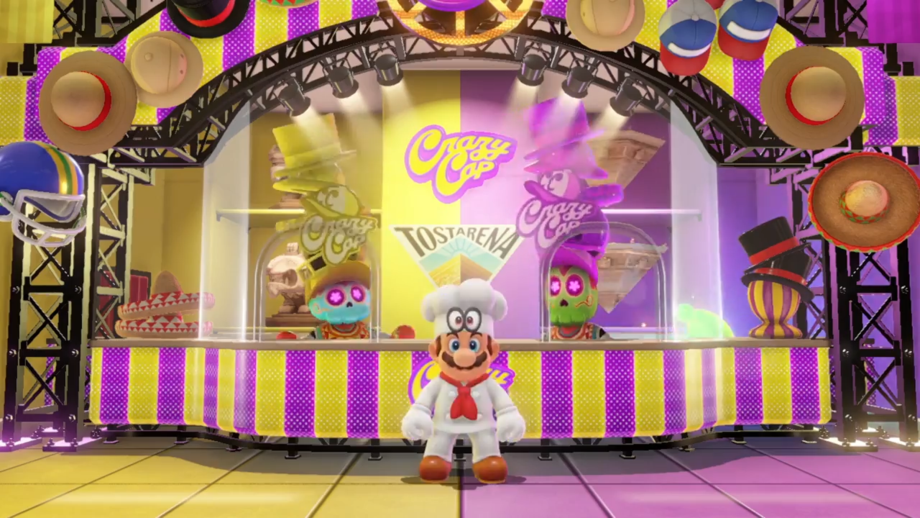 Chef Mario from 1992's Yoshi's Cookie
