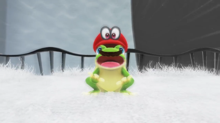 A nod to the Frog Suit from Super Mario Bros. 3?