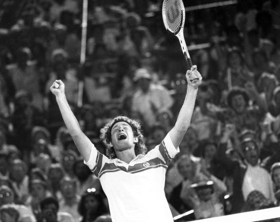 John McEnroe, Tennis Player