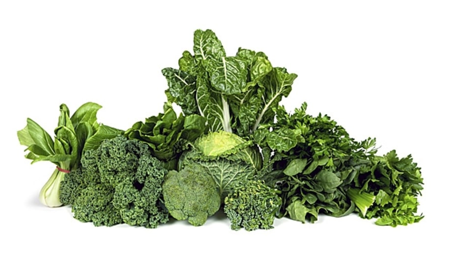 6. Eat More Greens