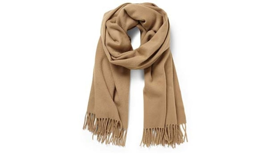 Acne Canada Oversize Scarf in Brushed Lambswool