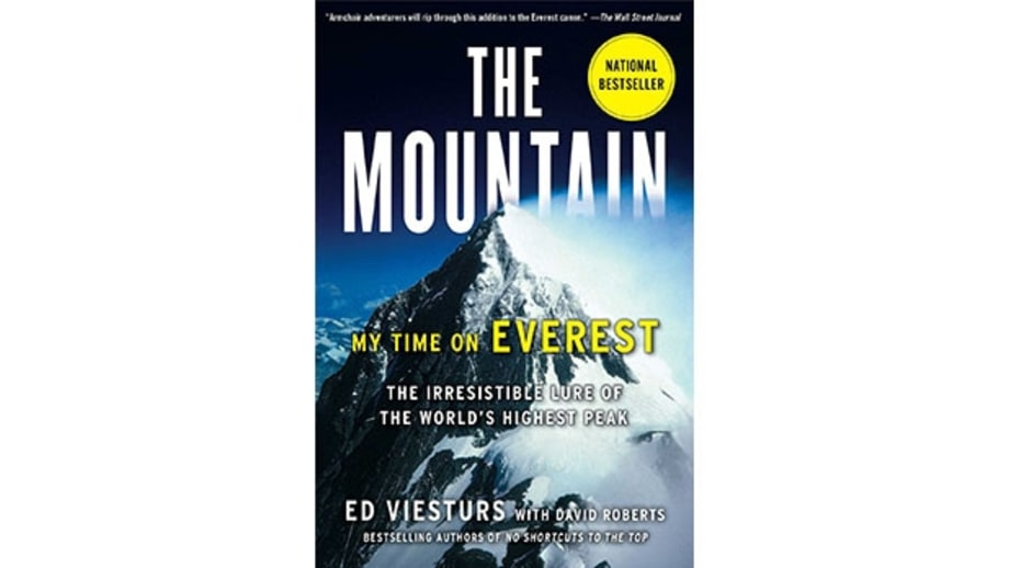 mj 618 348 adventure books the mountain my time on everest by ed viesturs