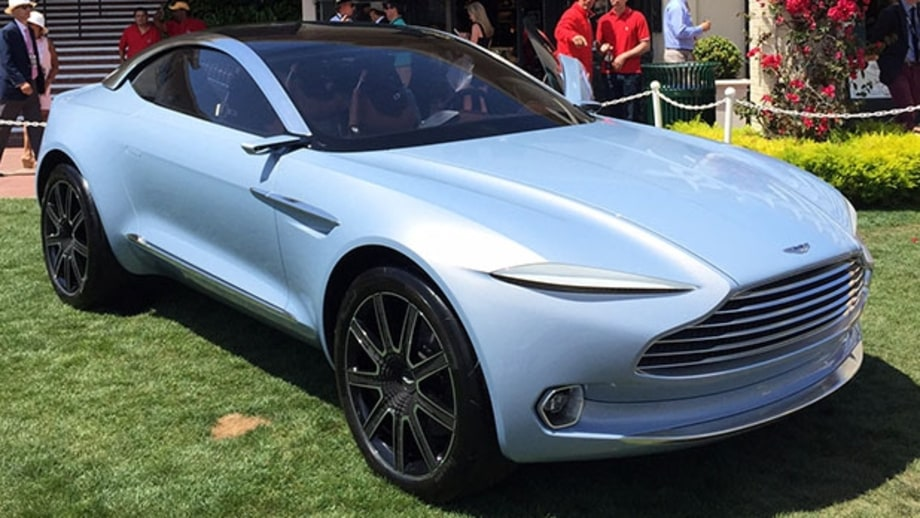 aston martin dbx concept our favorite cars from this year 39 s pebble beach concours d 39 elegance. Black Bedroom Furniture Sets. Home Design Ideas
