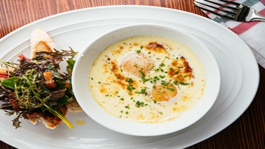 Baked Farmer's Eggs with Fennel Cream Sauce | Baked Eggs, 5 Ways | Men ...
