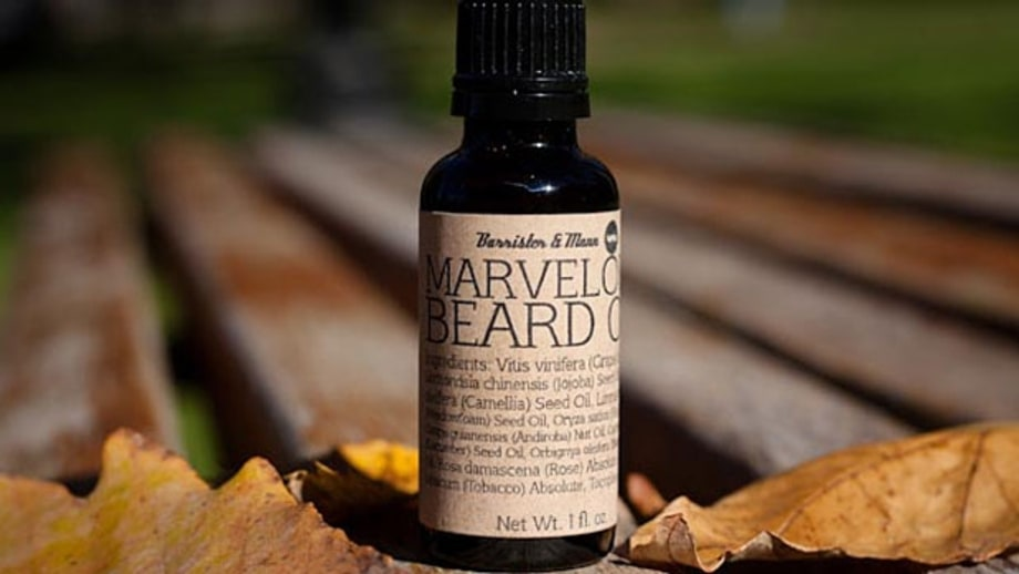 Barrister & Mann Marvelous Beard Oil