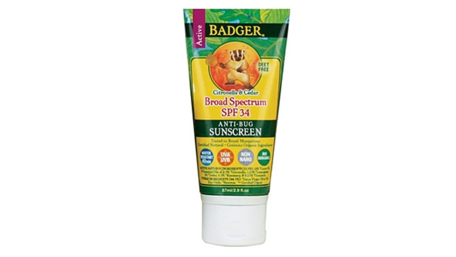 Badger Bug Repellent Sunscreen SPF 34