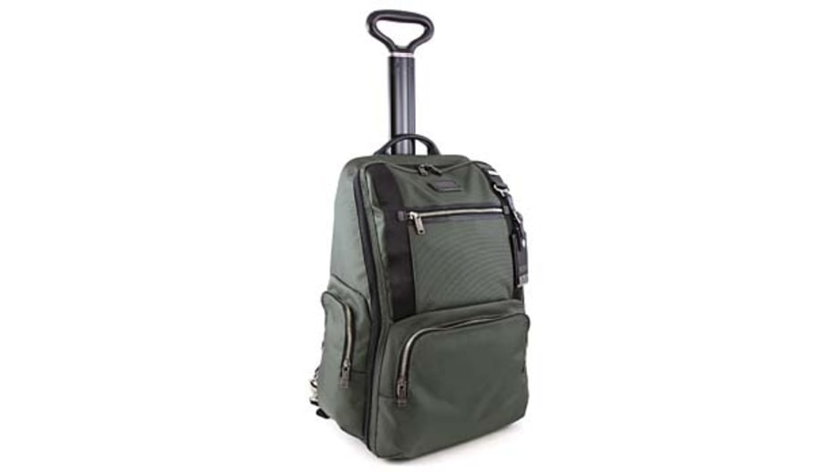Best for work trips: Tumi Alpha Bravo Lemoore wheeled backpack