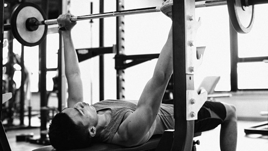 Lift half of what you usually lift – and do twice the reps.