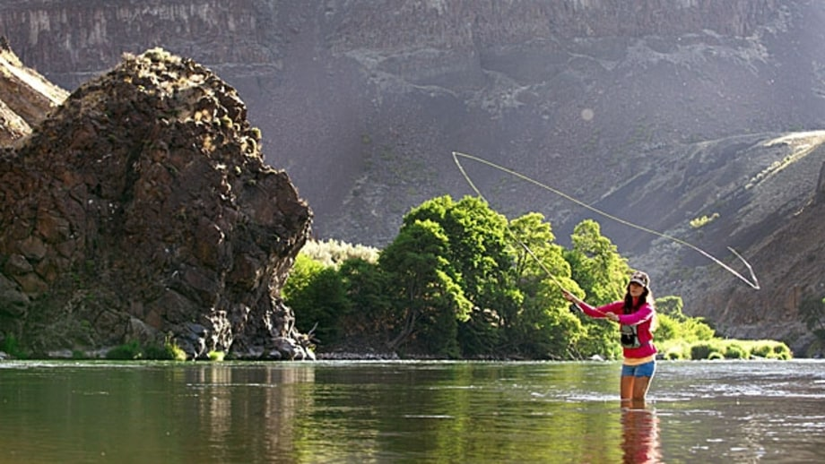 deschutes river oregon fly fishing cast away the top