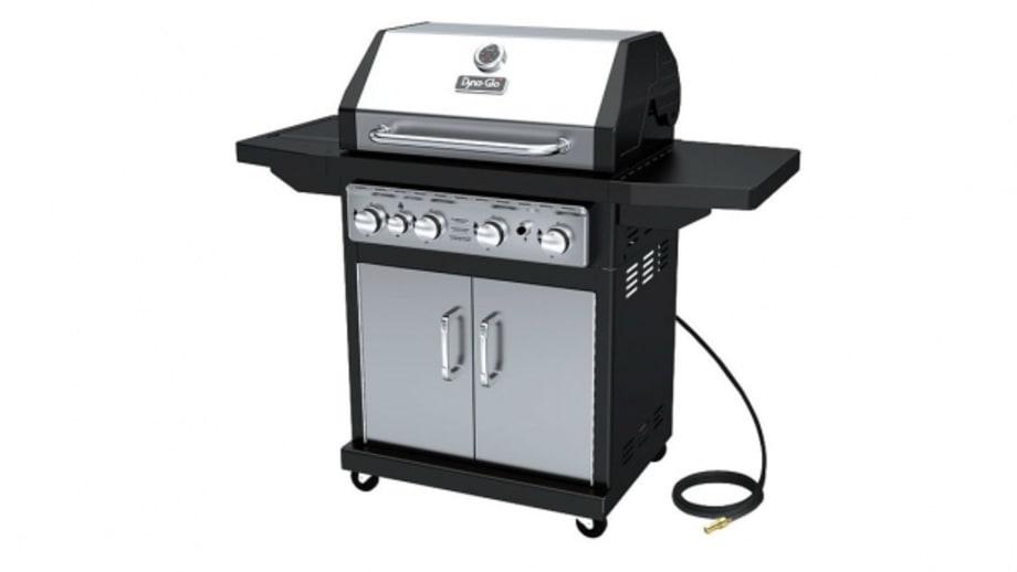 dyna glo 4 burner propane gas grill the best grills for. Black Bedroom Furniture Sets. Home Design Ideas