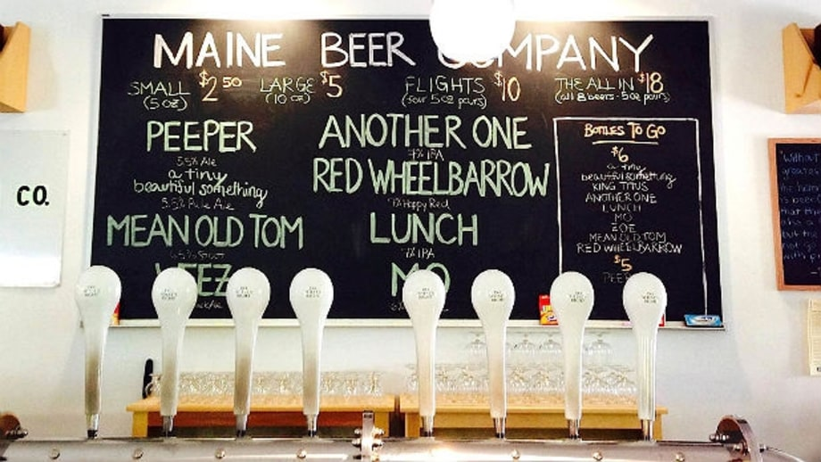Maine Beer Company's Dinner: Freeport, Maine