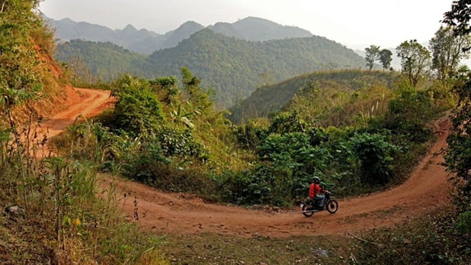Motorcycle the Ho Chi Minh Trail