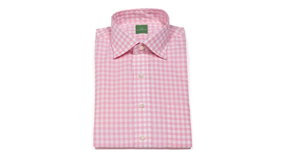 The colorful button-down