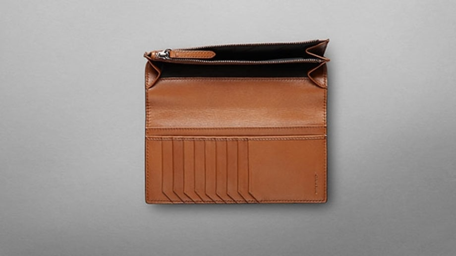 Burberry London Leather Continental Wallet