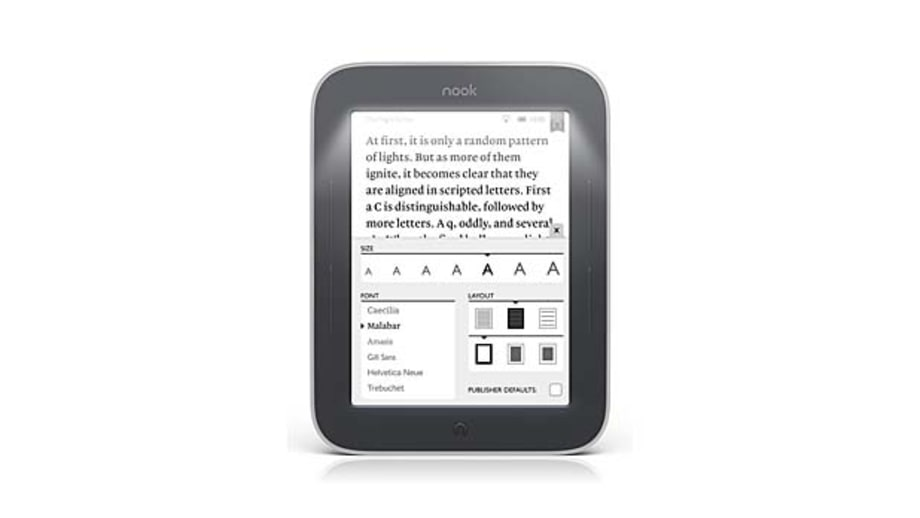 Nook Simple Touch with GlowLight E-Reader