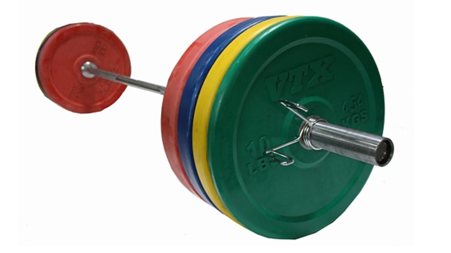 VTX Colored Bumper-Plate Weight Set