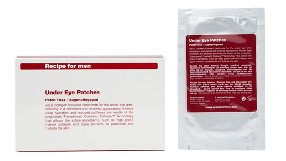 Best After a Long Night: Recipe for Men Under Eye Patches