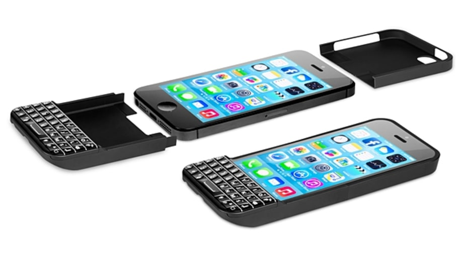 The iPhone case for keyboard fans