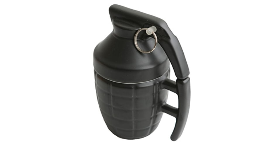 For the colleague: Grenade Mug