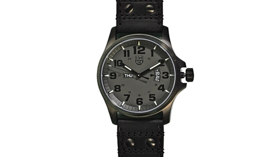 Luminox 1879 Blackout Field Day Date