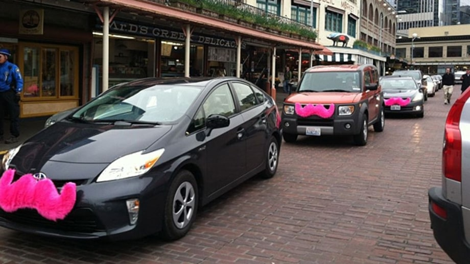 Seattle: A whimsical ride-share service.