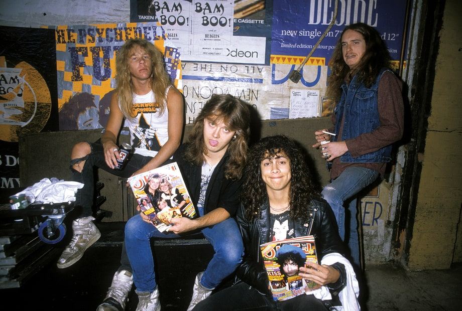 Metallica: See Photos From Epic New 'Master of Puppets' Book