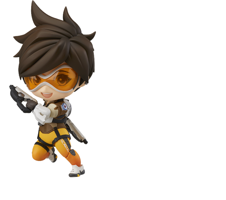 Nendoroid Tracer with pulse pistols