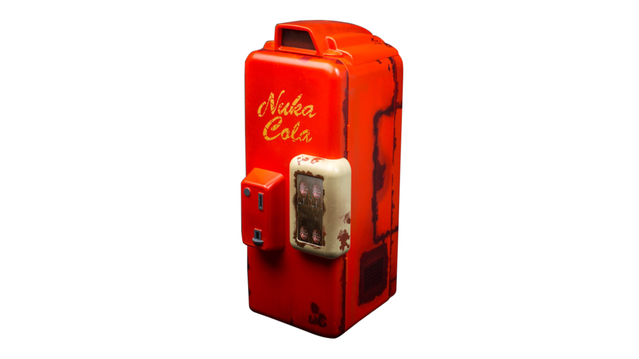 Nuka Cola Machine Mini Fridge