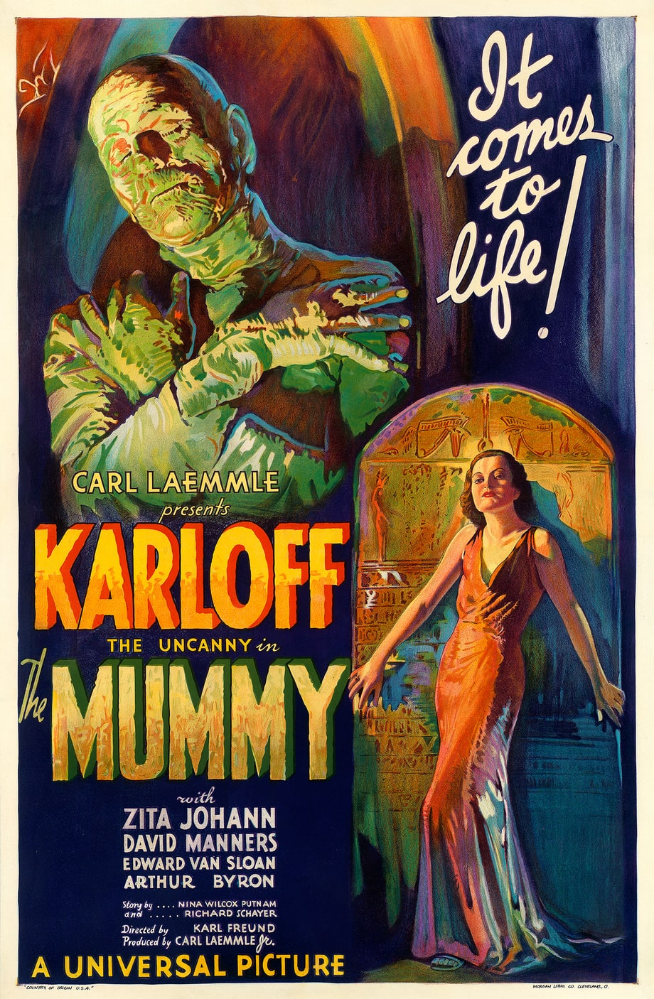 'The Mummy,' 1932