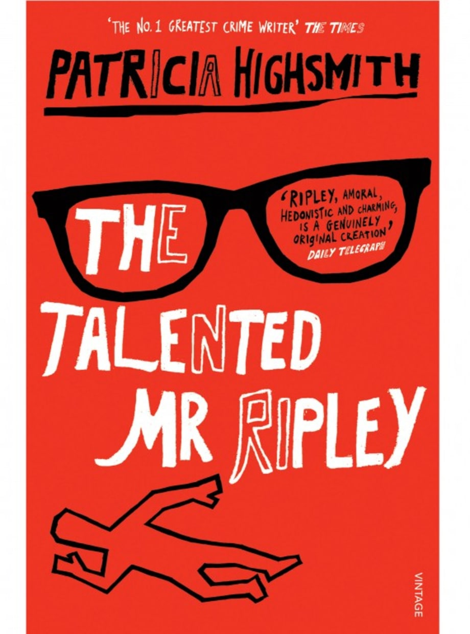 For the Guy Who Likes Suspense: The Talented Mr. Ripley by Patricia Highsmith
