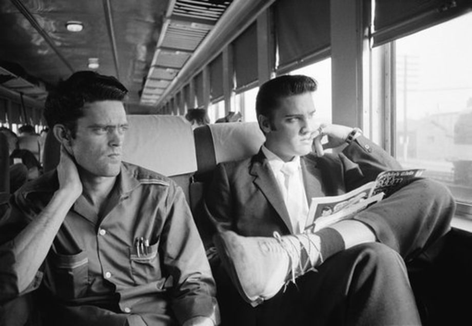 Elvis at 21: July 3, 1956: Train