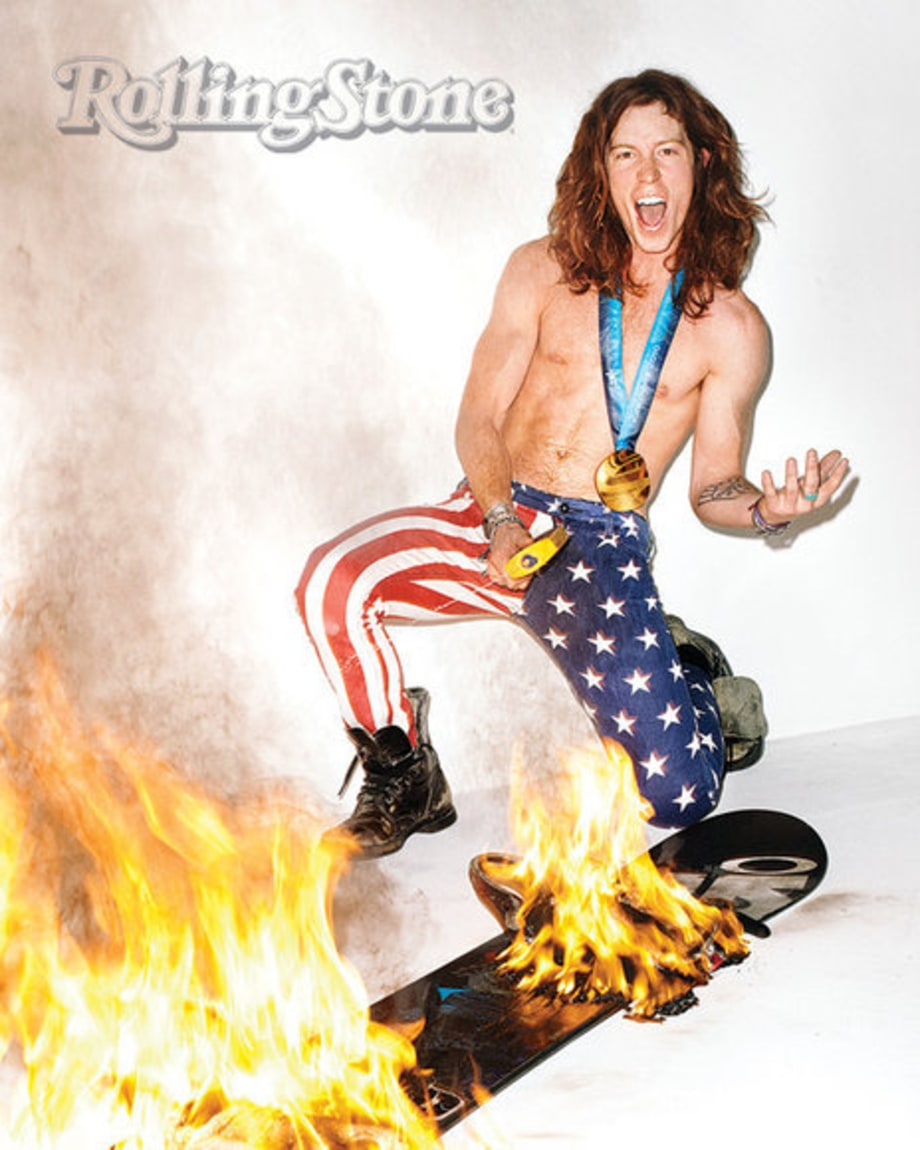 Shaun White Cover Shoot: 1100: expanded fire