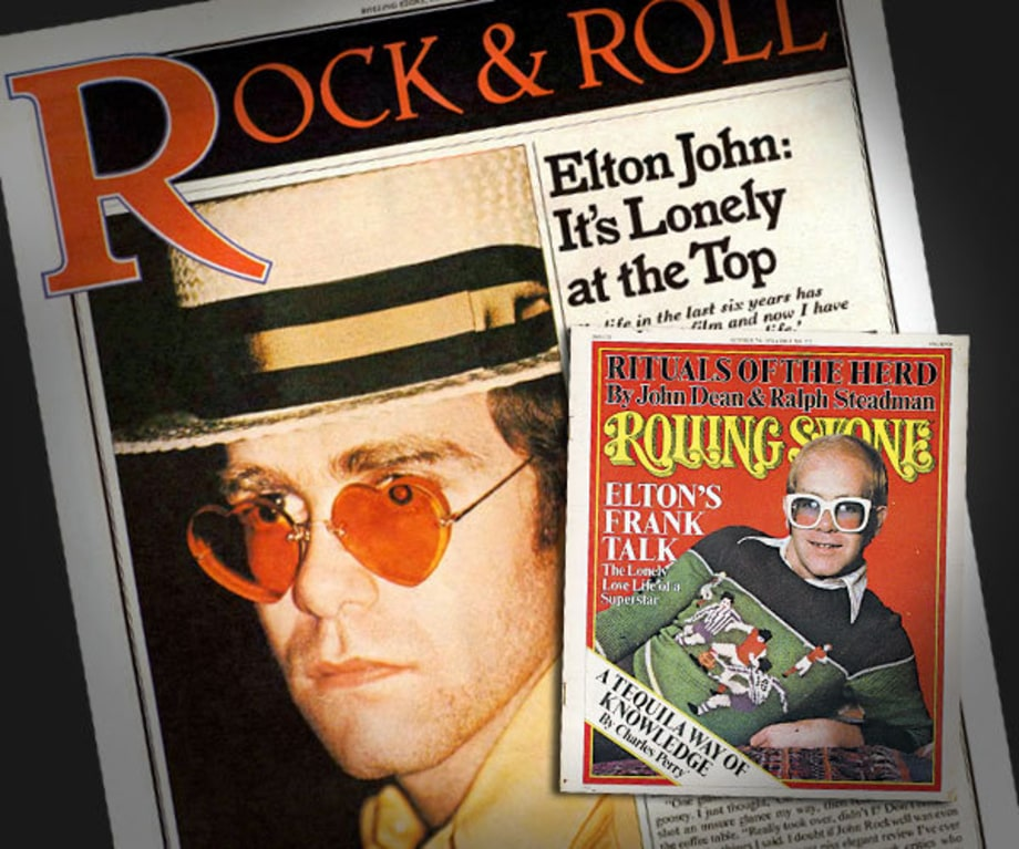 Elton John Comes Out of the Closet