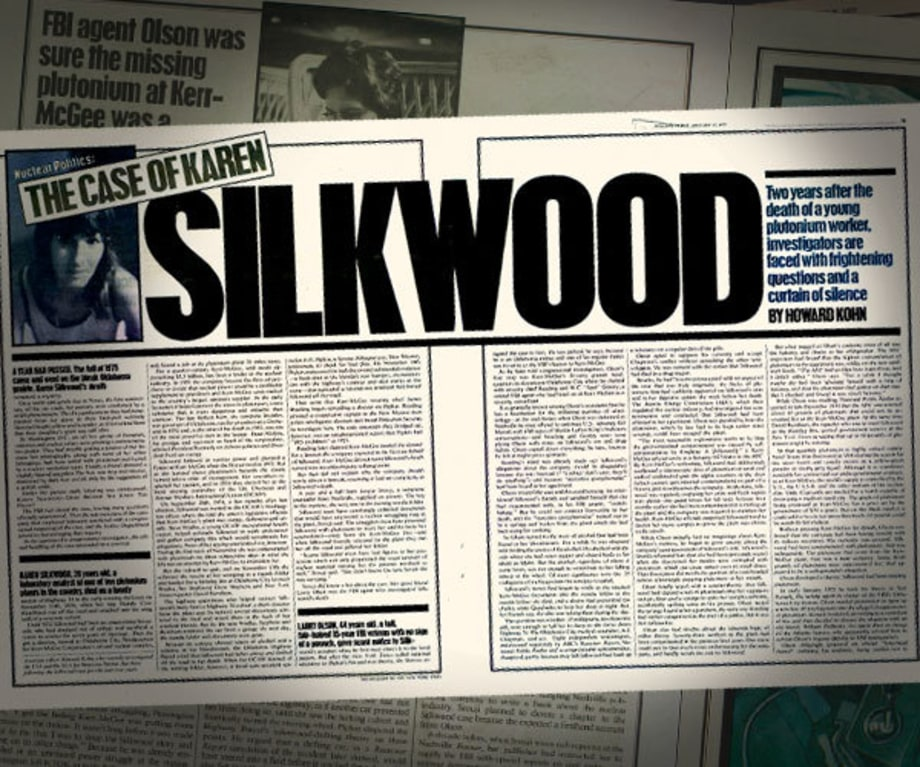 Silkwood Murder Theory Introduced