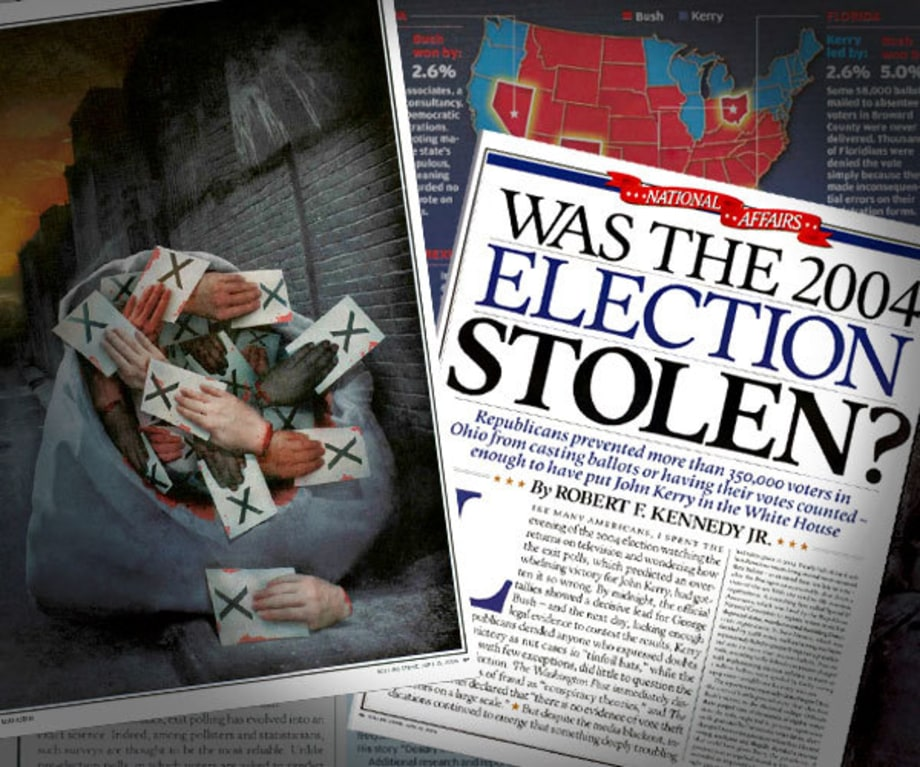 Ohio Election Stolen