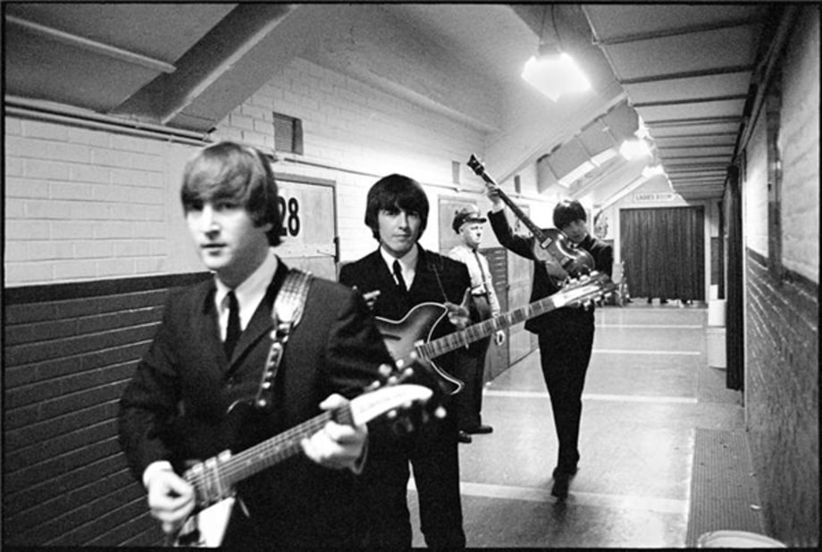 Hitting The Stage Invasion Of The Beatles Rolling Stone
