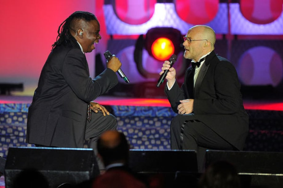 Philip Bailey and Phil Collins