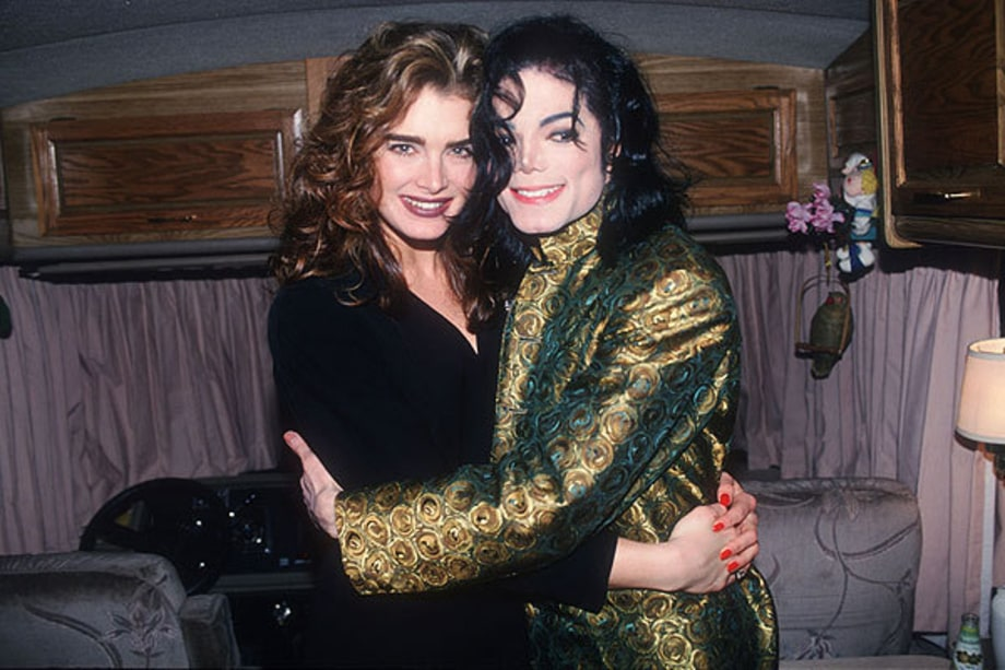 Brooke Shields  on King of Pop's