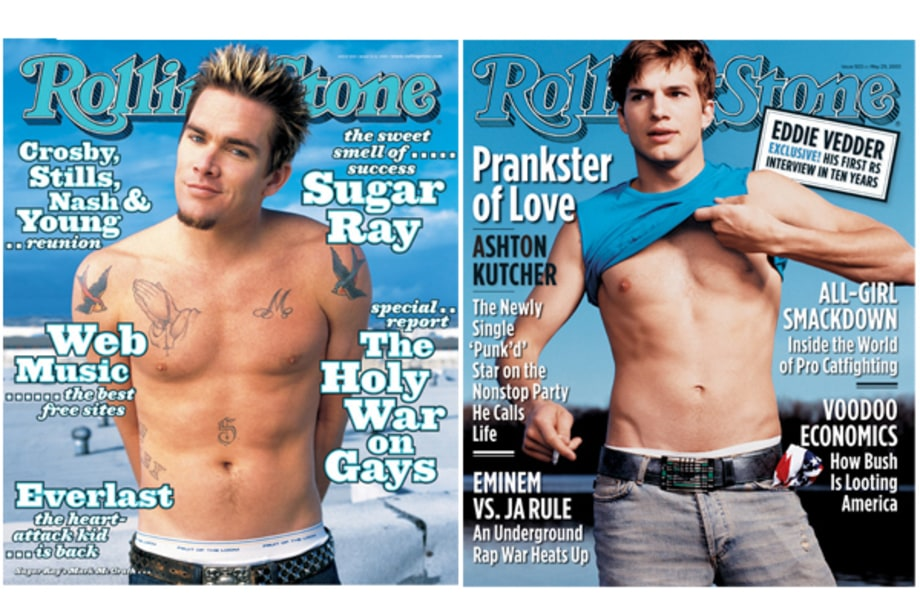 Mark McGrath and Ashton Kutcher