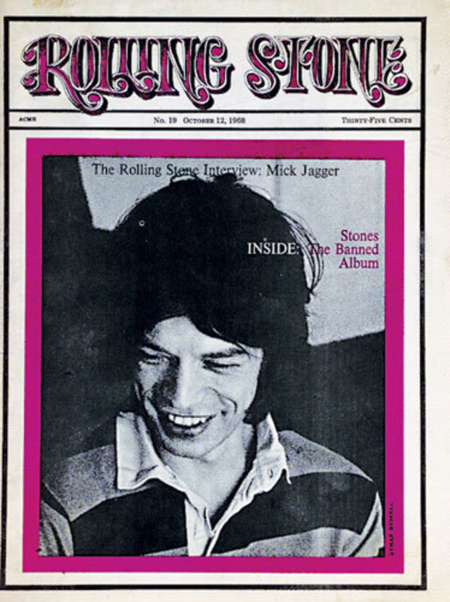 Mick Jagger's First RS Interview