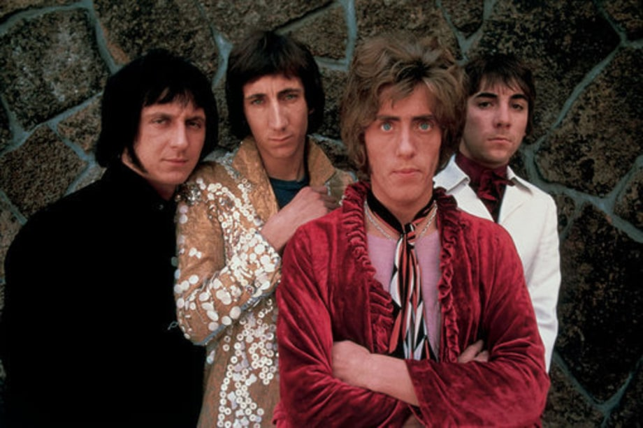 The Who photographed in 1968 in San Franciso, California.