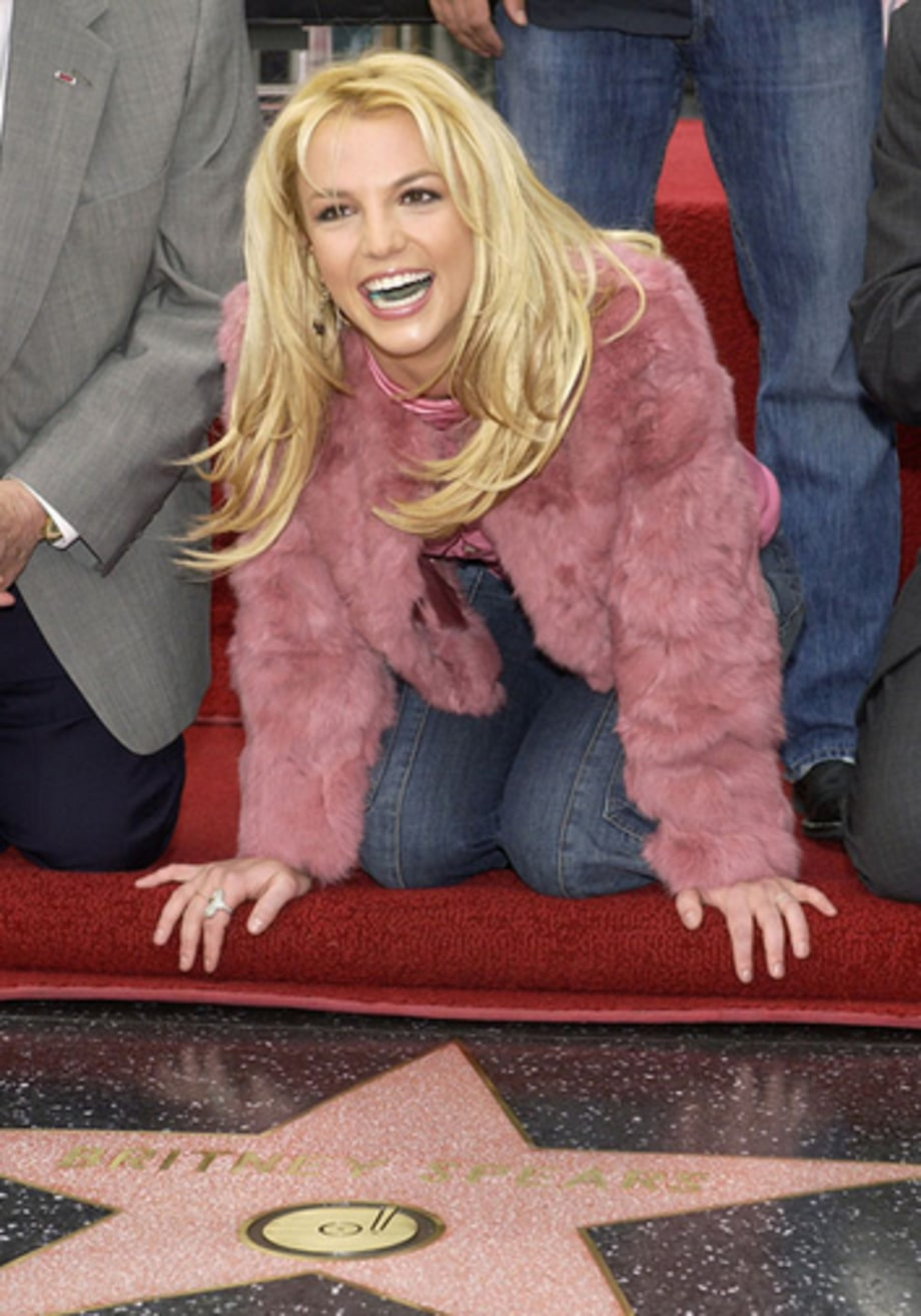 hollywood walk of fame britney spears a life in