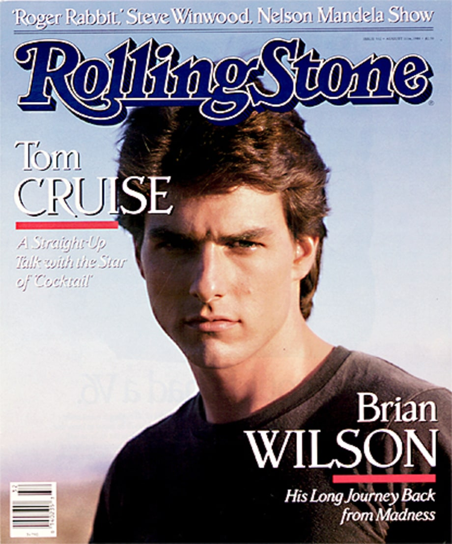 Tom Cruise Leading Men On The Cover Of Rolling Stone Rolling Stone