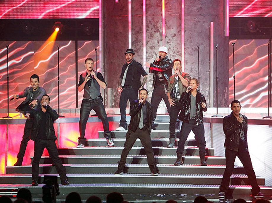 The Backstreet Boys and New Kids on the Block