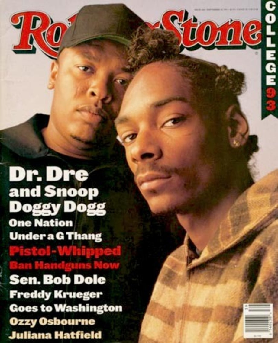 Dr. Dre and Snoop Dog