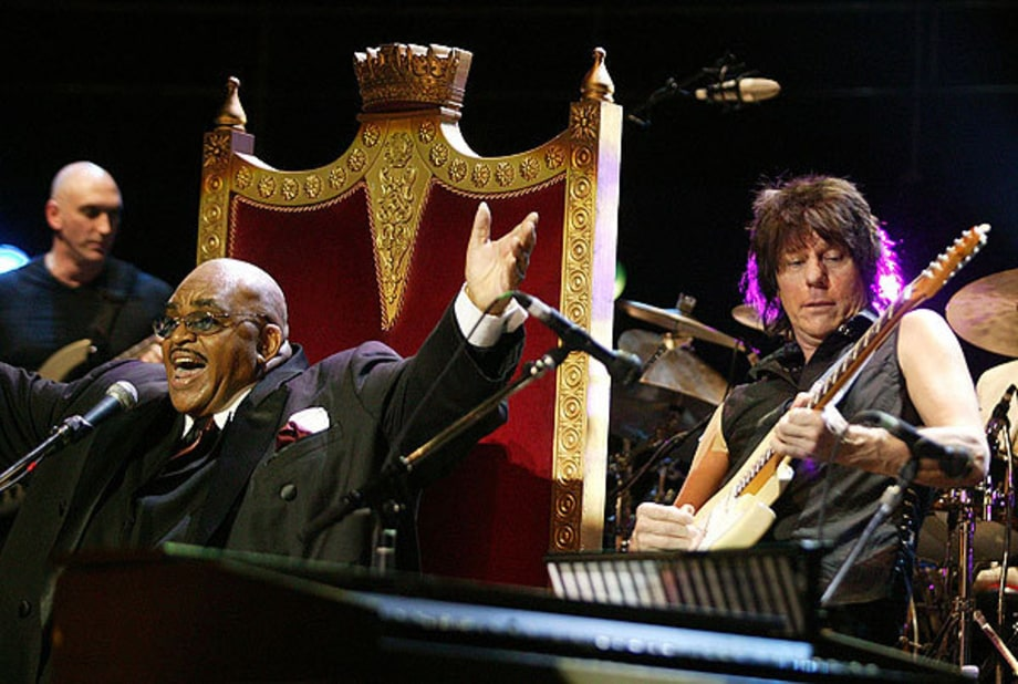 Jeff Beck and Solomon Burke