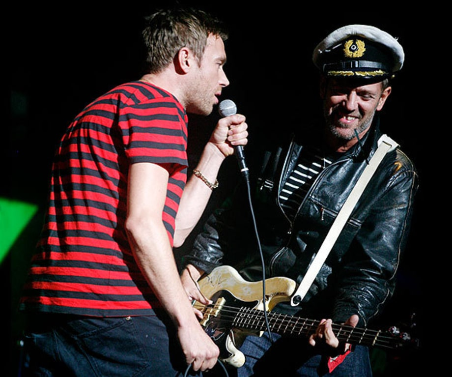 Damon Albarn and Paul Simonon