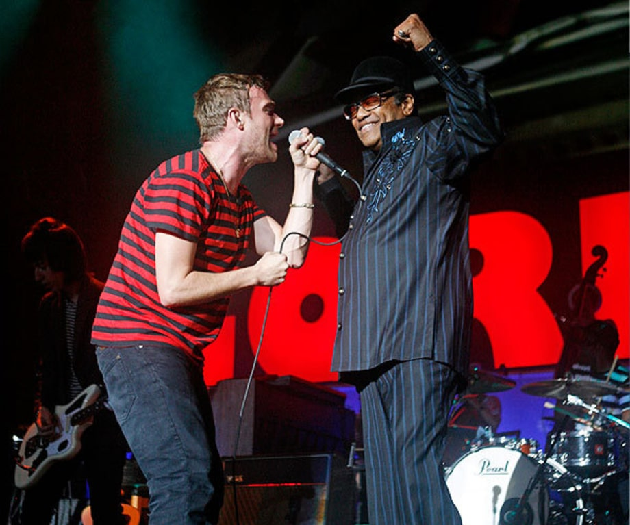 Damon Albarn and Bobby Womack